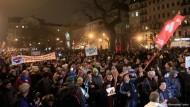 Protest in Ungarn wächst