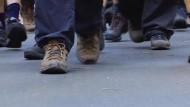 Der größte Fußmarsch der Welt