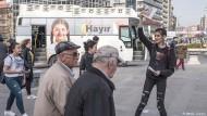 Kurden wehren sich gegen Erdogans Referendum