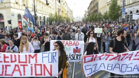 Ungarische Elite-Uni vor dem Aus