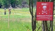 Landminen als tödliches Erbe des Bosnienkriegs