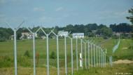 Litauen baut einen Zaun zu Russland