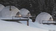 Schneeurlaub im Luxuszelt