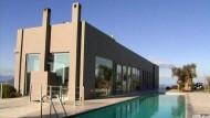 Minimalistische Villa mit Meerblick auf der Insel Aegina
