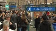 Berühmte Boulevards: Kurfürstendamm