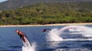 Wassersport mit Düsenantrieb
