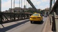 Mit dem Taxi durch Budapest