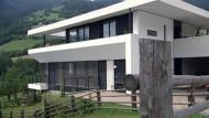 Ein ungewohnt offenes Passivhaus in Südtirol