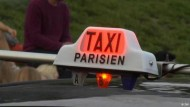Im Taxi durch Paris