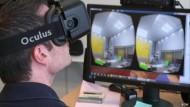 Eintauchen in die virtuelle Realität