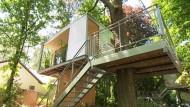 Ein Baumhaus mitten in Berlin