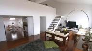 Verwandlung einer maroden Wohnung in ein schickes Loft