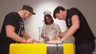 Videospiel PainStation verteilt Stromschläge und Peitschenhiebe