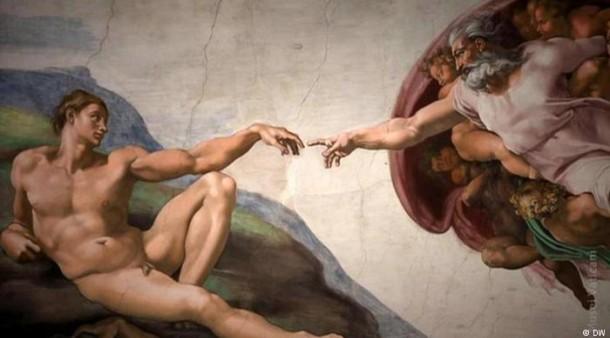 Michelangelos Meisterwerk Die Erschaffung Adams  Feuilleton  FAZ