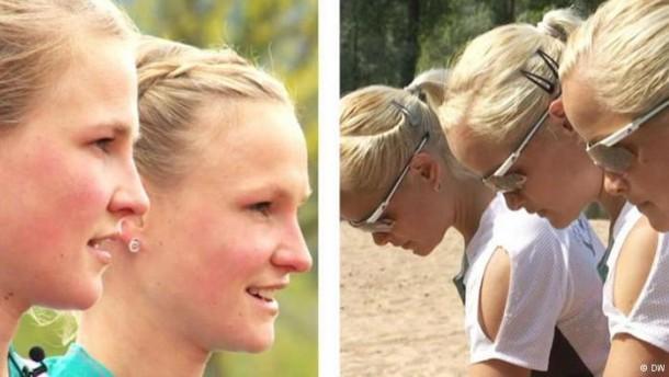 Zwillinge gegen Drillinge bei Olympia
