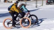 Mit dem Fatbike durch den Schnee