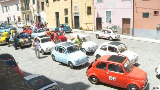 Fiat 500-Treffen in Garlenda