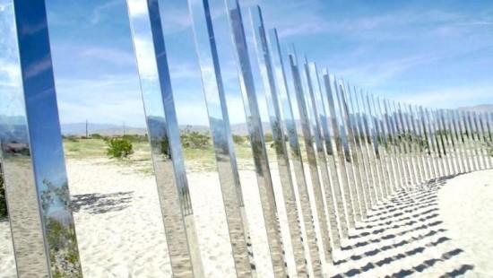 Wüsten-Kunst in Kalifornien