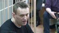 Haftstrafe für Kreml-Kritiker Nawalny