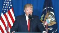 Westen stellt sich hinter Trump