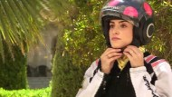 Verschleierte Bikerinnen erobern Jordaniens Straßen