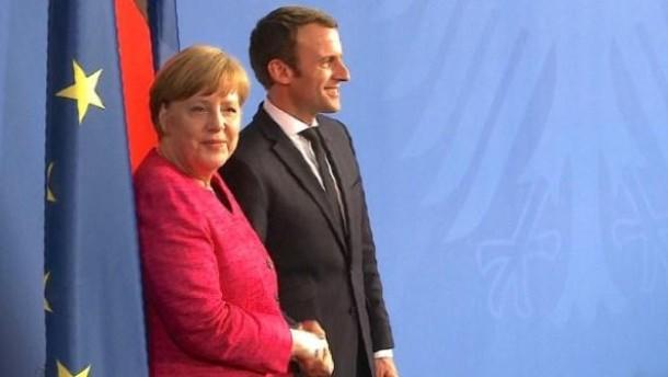 Merkel und Macron wollen Europa neuen Schwung geben