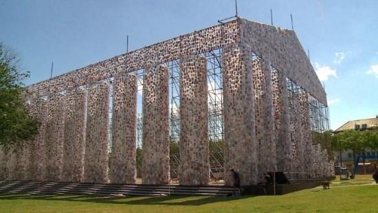 Tempel der verbotenen Bücher auf der Documenta