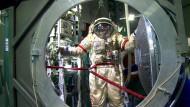 So trainieren russische Kosmonauten für das All