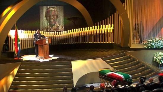 Staatsbegräbnis für Mandela rührt ganz Südafrika
