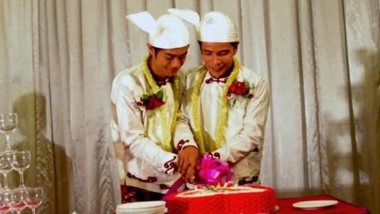 Erste offizielle Schwulen-Hochzeit in Burma