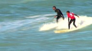 Surfen statt Bandenkrieg