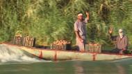 Kleine Boote versorgen belagerte Iraker