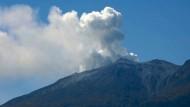 Tödliche Aschewolke am Vulkan Ontake in Japan