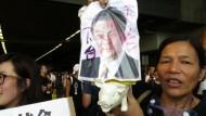 Proteste überschatten chinesischen Nationalfeiertag
