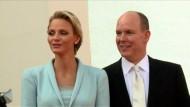 Charlène von Monaco erwartet Zwillinge