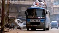 Gefährliche Reise um das geteilte Aleppo