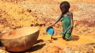 Goldgräber auf gefährlicher Suche in Mali