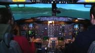 Die Flugangst besiegen im Flugsimulator