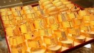 Glänzendes Geschäft mit Gold in der Türkei