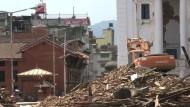 Das Ausmaß der Zerstörung