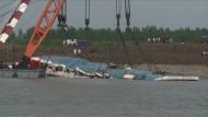 Keine Hoffnung auf Überlebende in Jangtse-Schiff