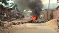 Burundi droht Wirtschaftskollaps