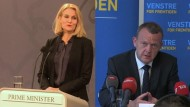 Knappes Ergebnis in Dänemark erwartet