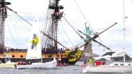 Schiffsparade zum Nationalfeiertag