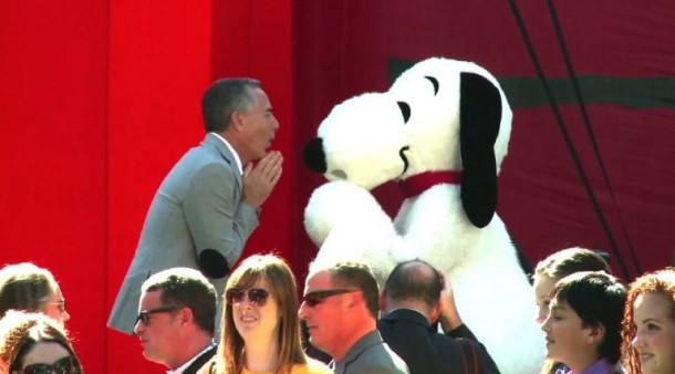 """Snoopy auf dem roten Teppich Die """"Peanuts"""" erobern"""
