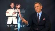 Craig und Waltz über neuen Bond-Film