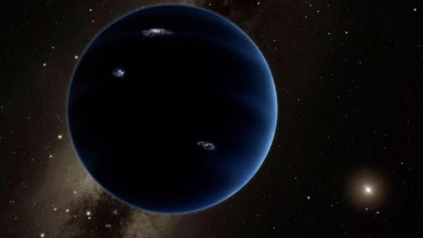 Wissenschaftler entdecken womöglich neunten Planeten