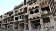 Erschütternde Bilder zeigen Homs nach fünf Jahren Bürgerkrieg