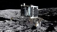 Kometensonde Philae versinkt im ewigen Winterschlaf