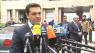 Tsipras fordert gemeinsame Lösung in Flüchtlingskrise